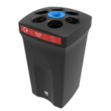 Envirocup Paper & Plastic Cup Recycling Bin With Liquid Collection - 100 Litre