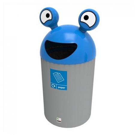 SpaceBuddy Alien Recycling Bin - 84 Litre