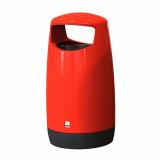 Consort Round Hooded Litter Bin - 95 Litre