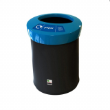 EcoAce Open Top Recycling Bin - 52 Litre