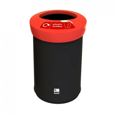EcoAce Open Top Recycling Bin - 62 Litre