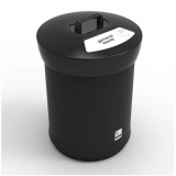 EcoAce Recycling Bin with Lift Off Handle Lid - 62 Litre