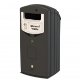 Envirobank Recycling Bin with Open Aperture - 140 Litre