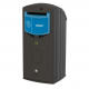 Envirobank Recycling Bin with Slot Aperture - 140 Litre