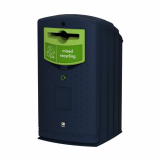 Envirobank Recycling Bin with Propellor Aperture - 140 Litre