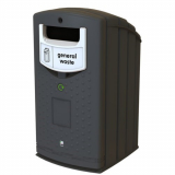 Envirobank Recycling Bin with Open Aperture - 240 Litre