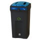 Envirobin Recycling Bin with Confidential Waste Lid - 100 Litre