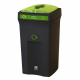 Envirobin Recycling Bin with Propellor Aperture - 100 Litre