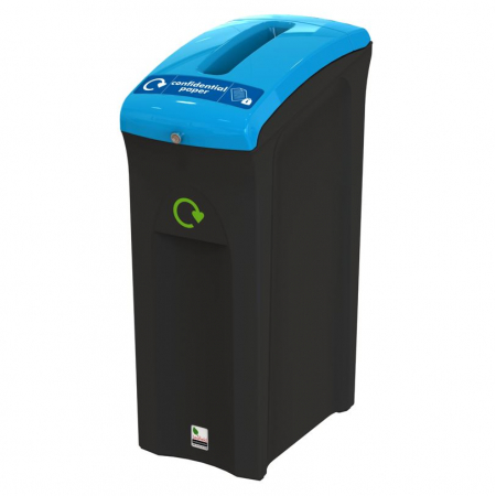 Midi Envirobin with Confidential Waste Aperture - 82 Litre