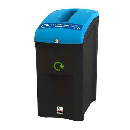 Mini Envirobin with Confidential Waste Aperture - 55 Litre
