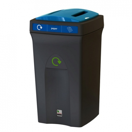 Envirobin Recycling Bin with Slot Aperture - 100 Litre