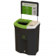 Meridian Recycling Bin with Open & Lift Up Apertures - 110 Litre