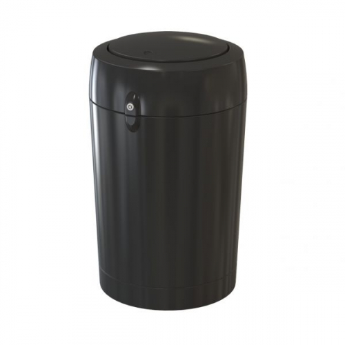 Wheelie Bin Cleaning >> Metro Flip Top Litter Bin - 100 Litre - Bin Shop