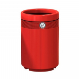 Monarch Economy Open Top Litter Bin - 140 Litre