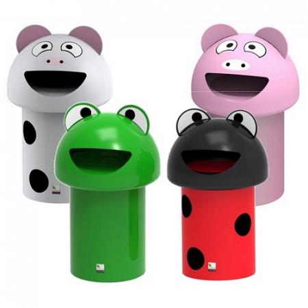 Set of 4 MiniBuddie Litter Bins