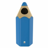Envirobuddie Pencil Litter Bin - 70 Litre
