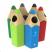 Envirobuddie Pencil Recycling Bin - 70 Litre