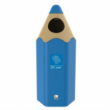 Envirobuddie Pencil Recycling Bin - 70 Litre