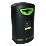 Pioneer Hooded Recycling Bin - 130 Litre
