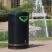 Pioneer Hooded Recycling Bin - 130 Litre