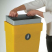 Regent Post or Wall Mountable Litter Bin - 50 Litre