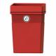 Regent Post or Wall Mountable Litter Bin - 50 Litre