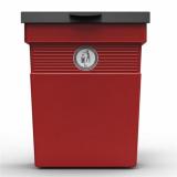 Regent Post or Wall Mountable Dog Waste Bin - 30 Litre