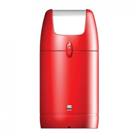 Viscount Round Hooded Litter Bin - 110 Litre