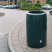 Viscount Open Top Litter Bin - 110 Litre