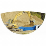 288 x 53 x 148mm Plant Machinery Safety Mirror
