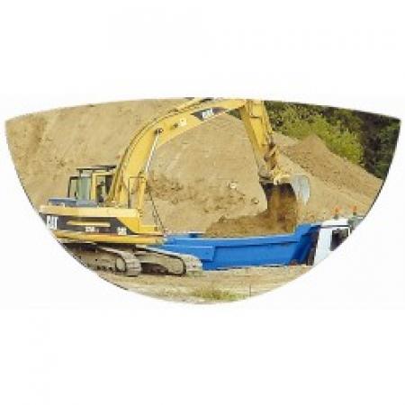 288 x 53 x 148mm Plant Machinery Safety Mirror