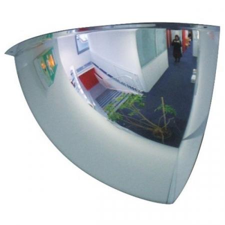 660mm Diameter PMMA 1/8 Sphere Security and Surveillance Mirror