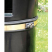 Nickleby Post Mountable Litter Bin - 40 Litre Capacity
