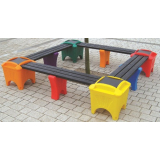 Modular Seating - Square Shaped Bench
