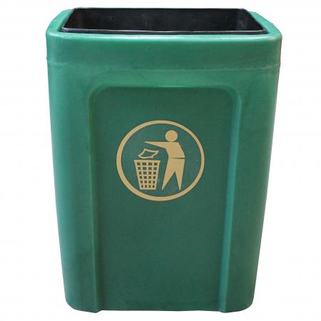 Titus Open Top Waste Bin - 25 Litre