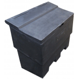 12 Cu Ft Recycled Grit Bin - 350 Litre / 350kg Capacity