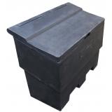 12 Cu Ft Recycled Grit Bin - 350 Litre / 350 kg Capacity
