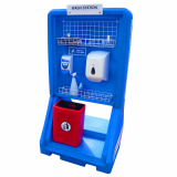 Hand Sanitiser and PPE Mobile Safety Station