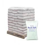 25 kg White De-icing Rock Salt x21 Bags - 525 kg