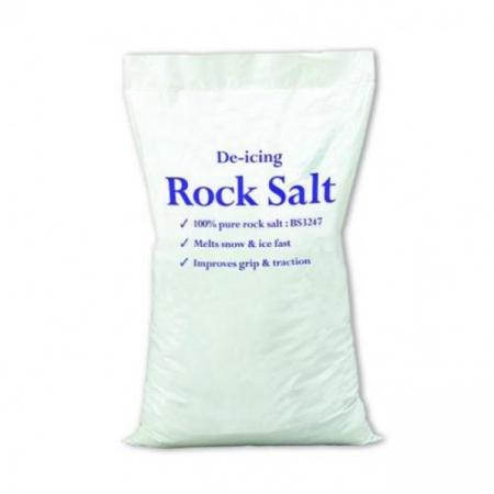 25 kg White De-icing Rock Salt