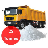 28 Tonnes of Loose De-icing Salt - White or Brown