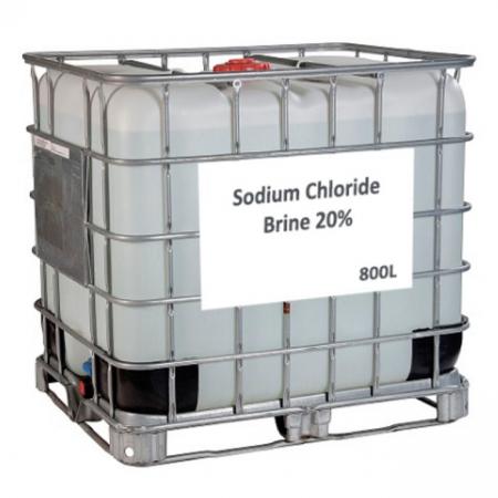 Sodium Chloride Brine 20% - 800 Litres