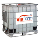 Viaform Non-Corrosive Liquid De-Icer - 1000 Litre IBC