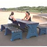 Premier Table and Bench Set - 6 Seater