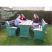 Premier Table and Seat Set - 6 Seater