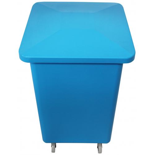 100 litre catering bin with optional lid and castors