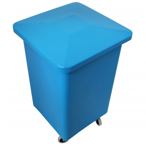Wheelie Bin Cleaning >> 100 Litre Catering Bin with Optional Lid and Castors - Bin Shop