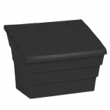 2 Cu Ft Recycled Grit Bin - 50 Litre / 50 kg Capacity
