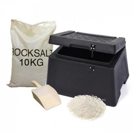 30 Litre Mini Grit Bin Winter Kit For The Home
