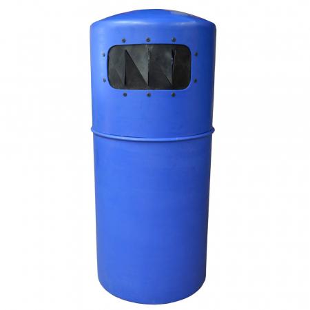 Hooded Top Litter Bin with Pest Guard - 90 Litre